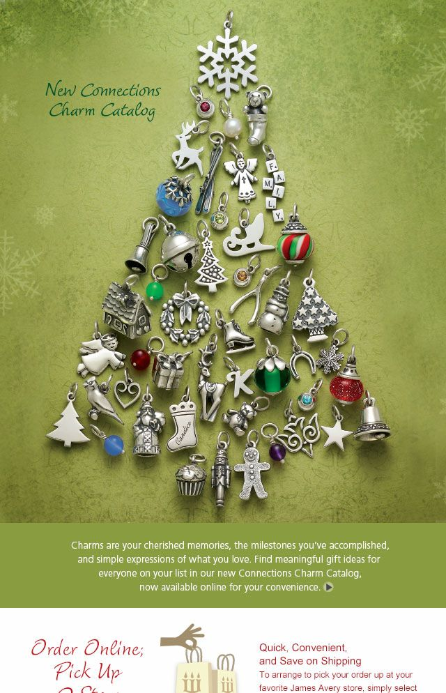 Christmas Catalog James Avery In 2019 James Avery