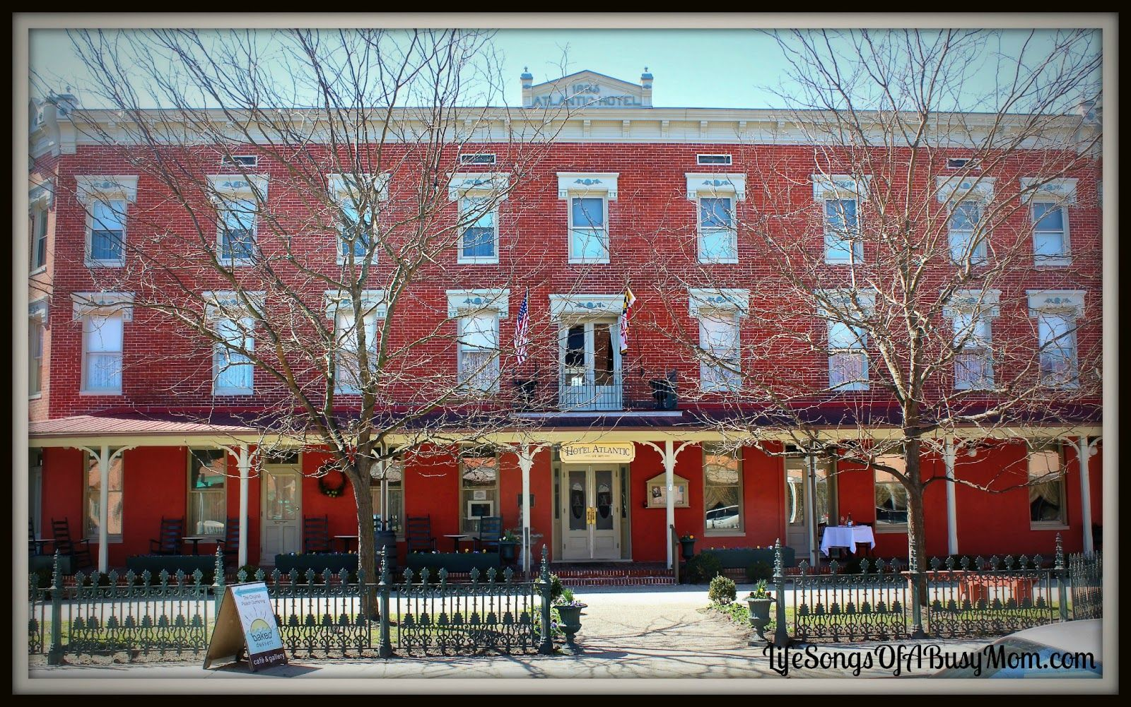 Life Songs Of A Busy Mom The Historic Atlantic Hotel In Berlin Md