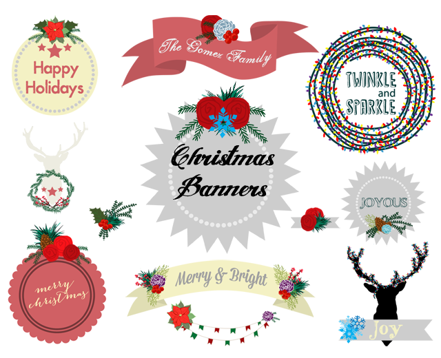 Free Christmas Banners Clip Art Download Http Www Mrsthreeinthree Com 2013 11 Free Christmas B Banner Clip Art Christmas Clipart Free Christmas Banners