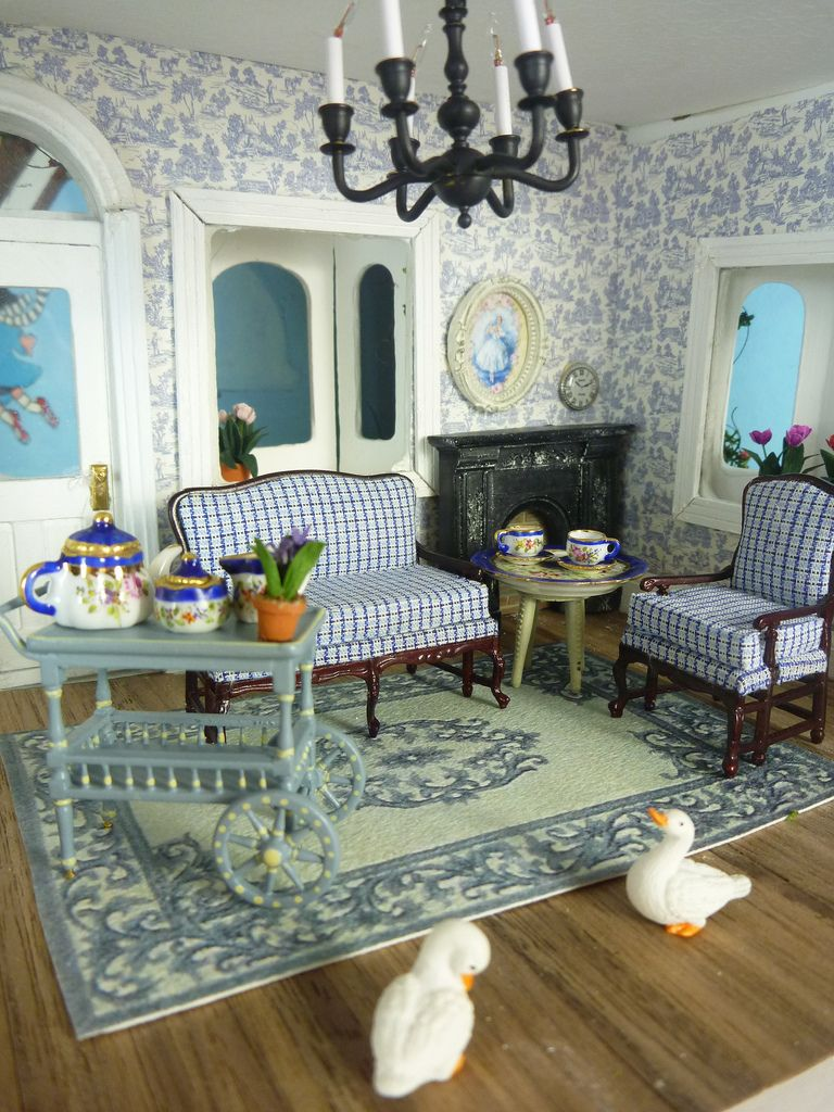 The Living Room Dolls House Interiors Dollhouse Living Room Dollhouse Decor