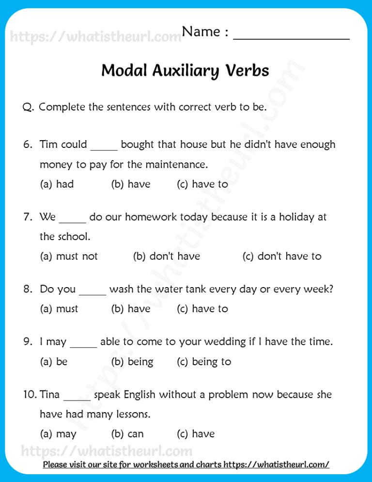 14++ Verbs worksheets 5th grade Images