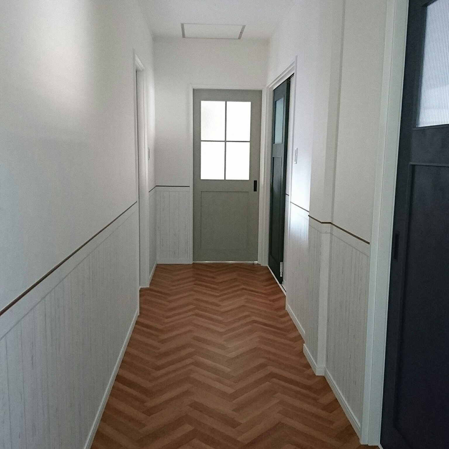 壁 天井 二階の廊下 サンゲツ壁紙 サンゲツクッションフロア サンゲツ