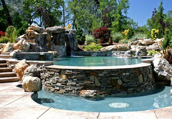 Freeform swimming pool designs swimming pool builder for Spa builders