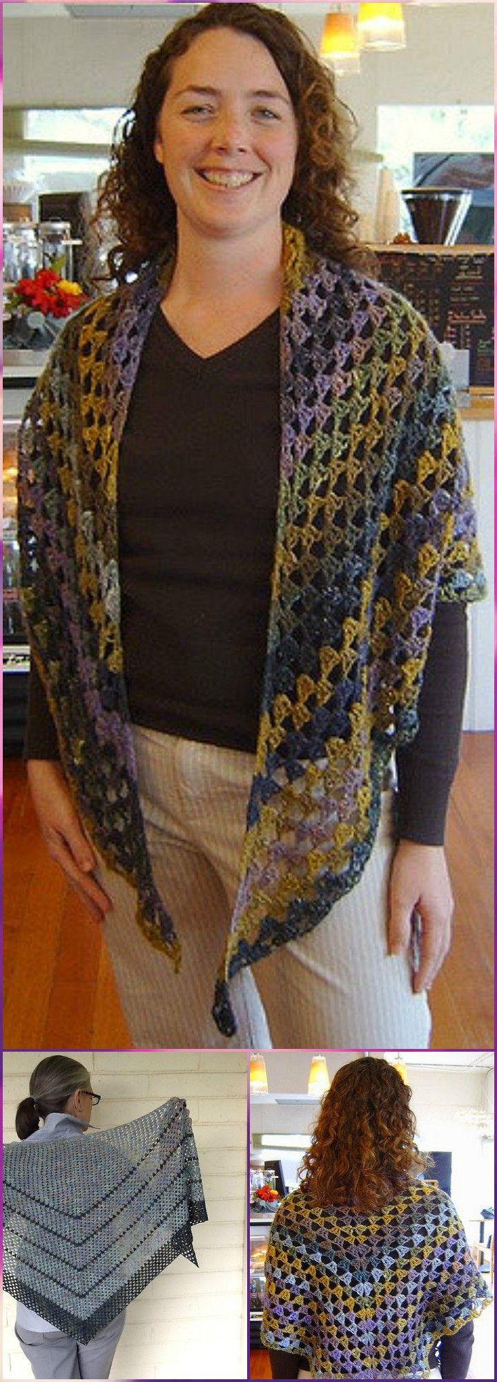 100 Free Crochet Shawl Patterns - Free Crochet Patterns - Page 11 of ...