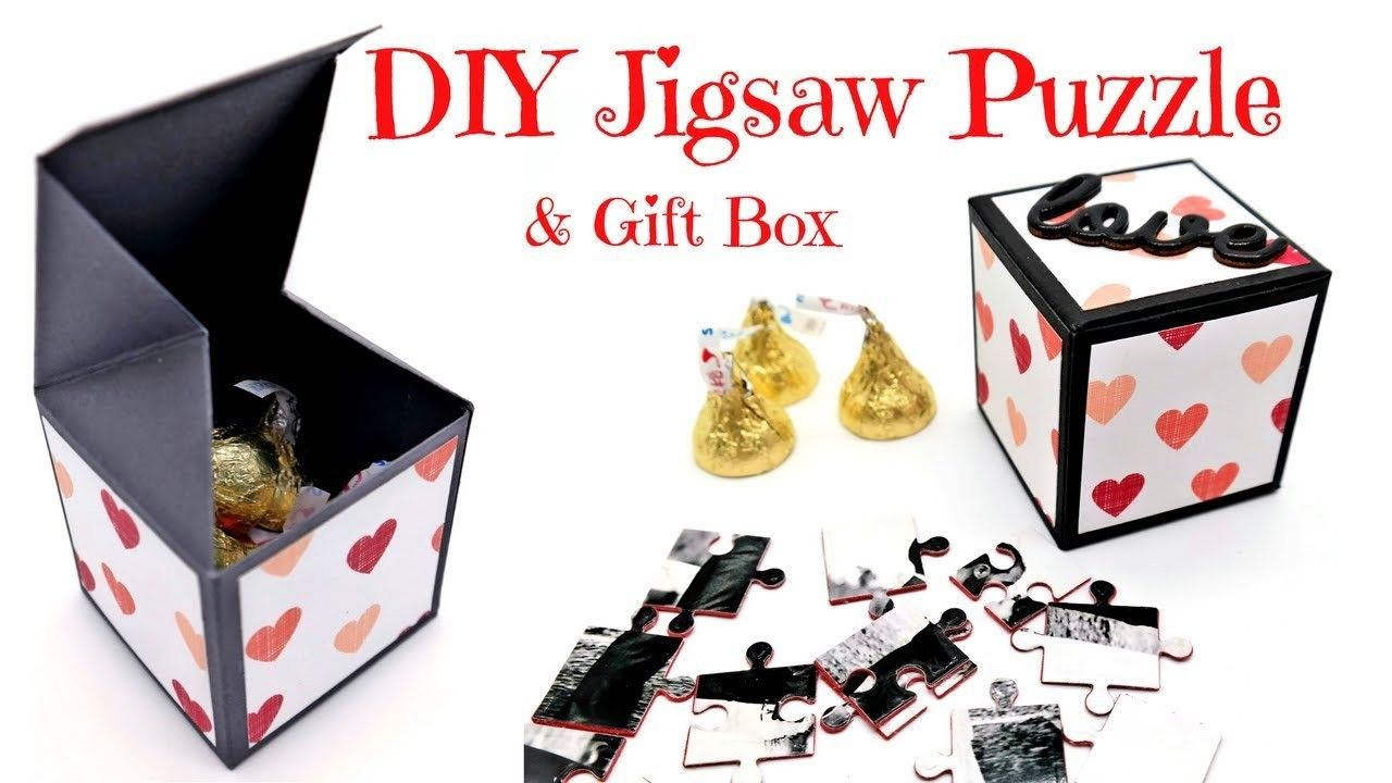 Easy diy jigsaw puzzle gift box jigsaw gifts puzzles