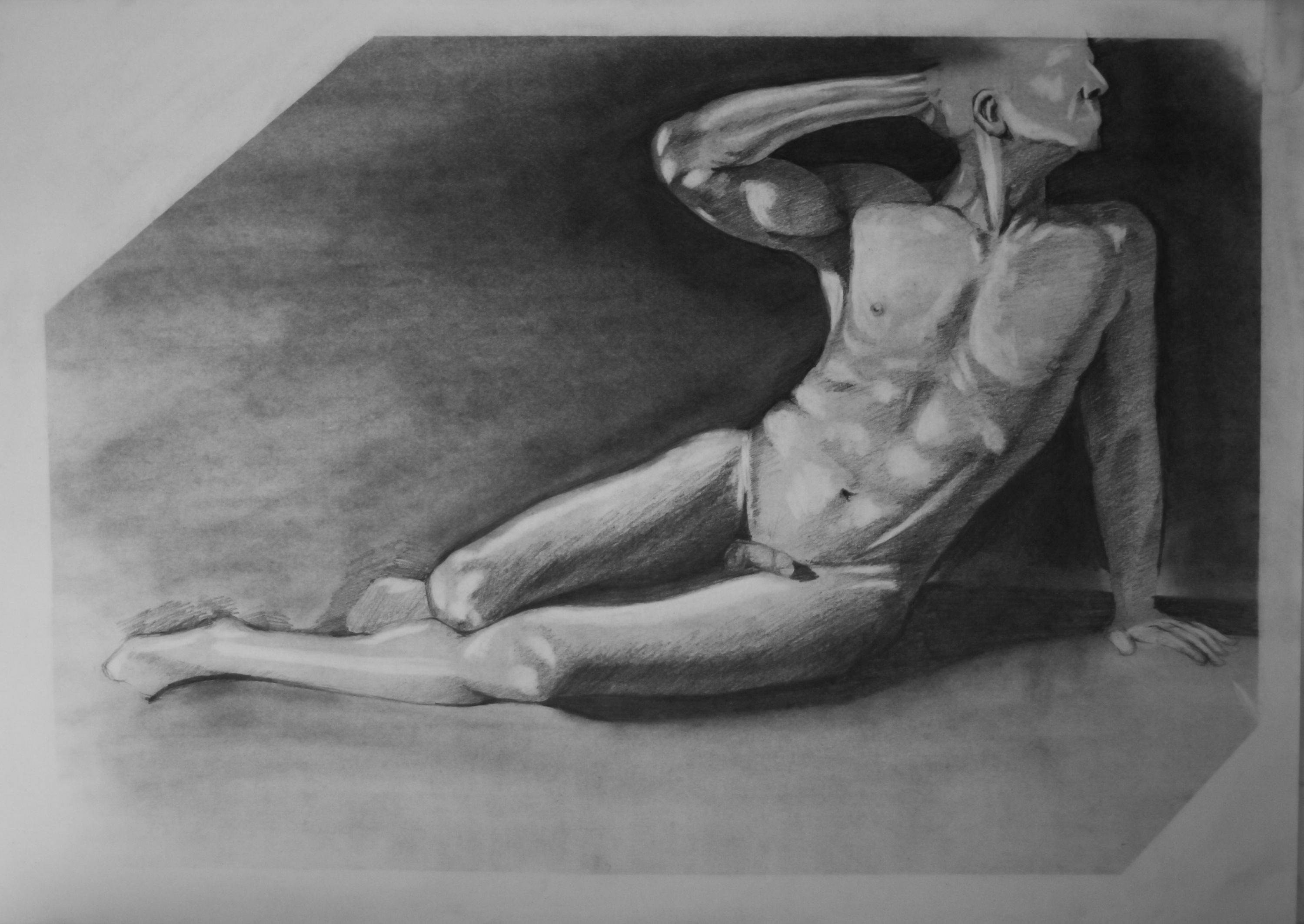 Figure Drawing in a class.