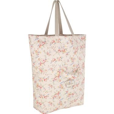 This clever large fold out bag can be used as two different sizes, simply fold out or fold in to create as much space as you need.  Complete in our pretty Bleached Flowers print, this relaxed style is ideal for the beach.