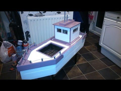 Pallet garden boat planter pallets 1001 pallets and Pallet boat plans