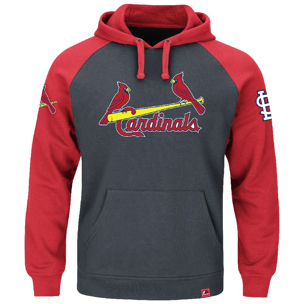 quality design 67f80 83815 St. Louis Cardinals Mens Granite Grand Slam Hoodie by ...