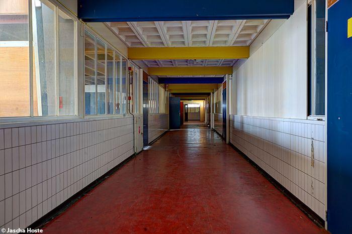 Rölingcollege (NL) April 2014 abandoned school in the Netherlands urbex decay Jascha Hoste