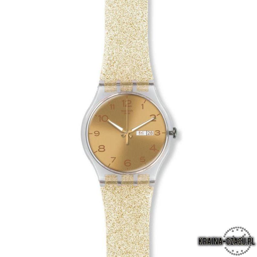 Zegarek Swatch New Gent Golden Sparkle Suok704 Kraina Czasu Pl Zegarki Meskie I Zegarki Damskie Zegarki Swatch Tissot Calvin Klei Gent Swatch Sparkle