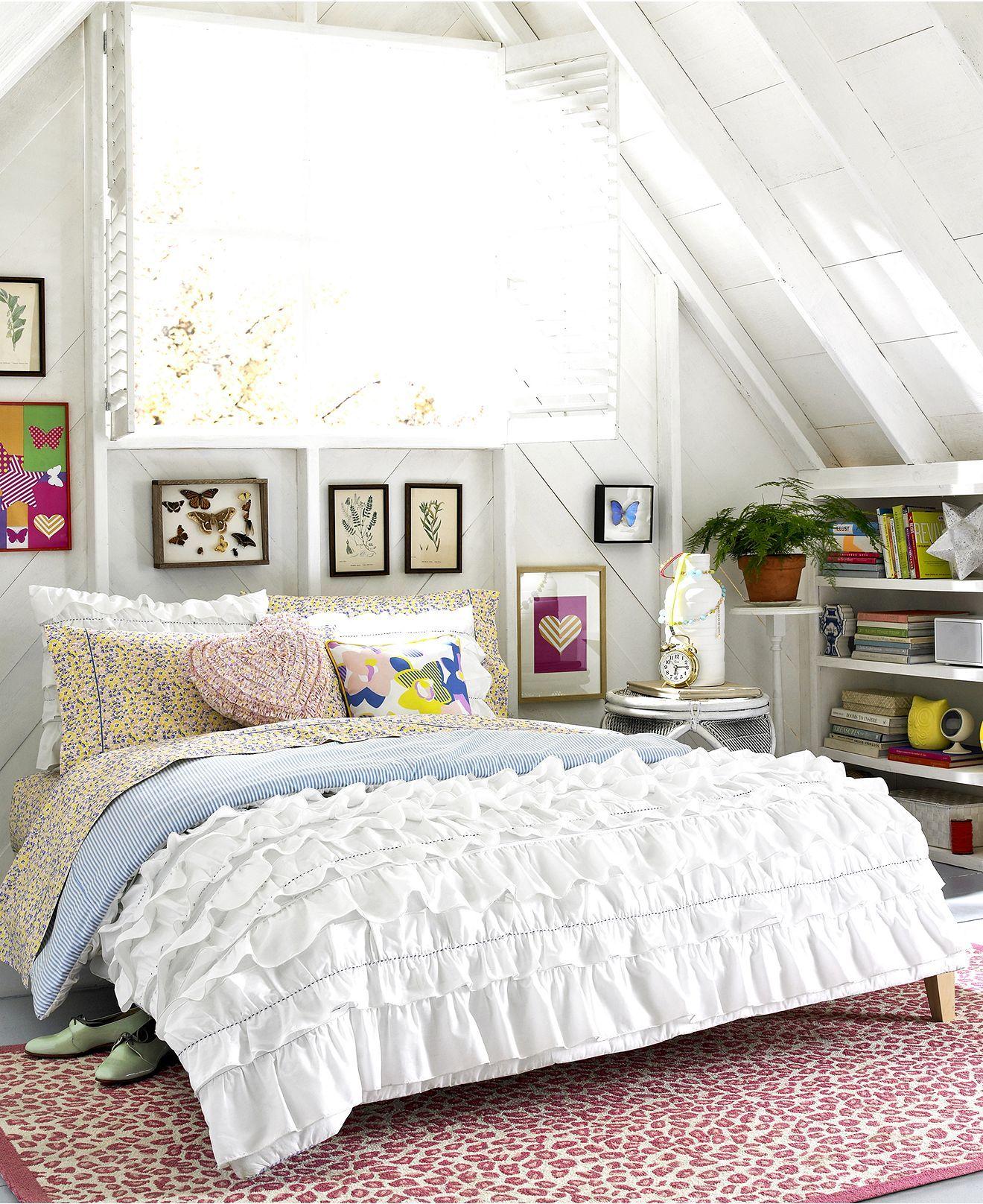 Teen Vogue Bedding, Secret Garden Comforter Sets - Apartment Bedding - Bed & Bath - Macy's