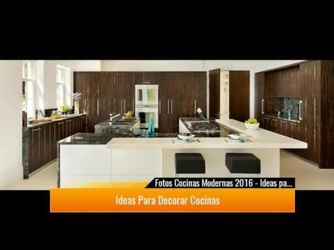 de 300 Fotos Cocinas Modernas 2017 - Ideas para decorar cocinas