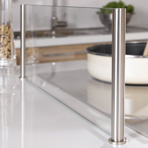 ecran anti projection en verre lapeyre cran et verre