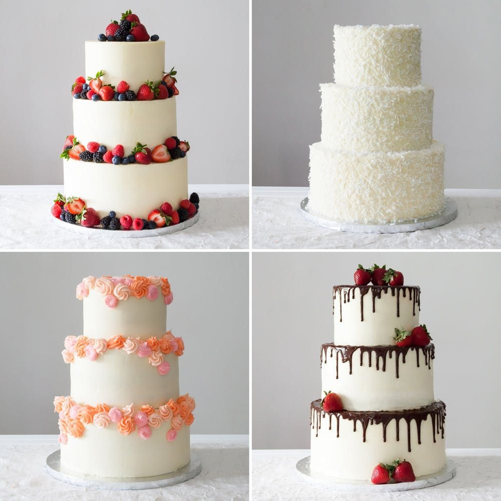 4 Easy Ways To Diy A Wedding Cake Recipe With Images Diy