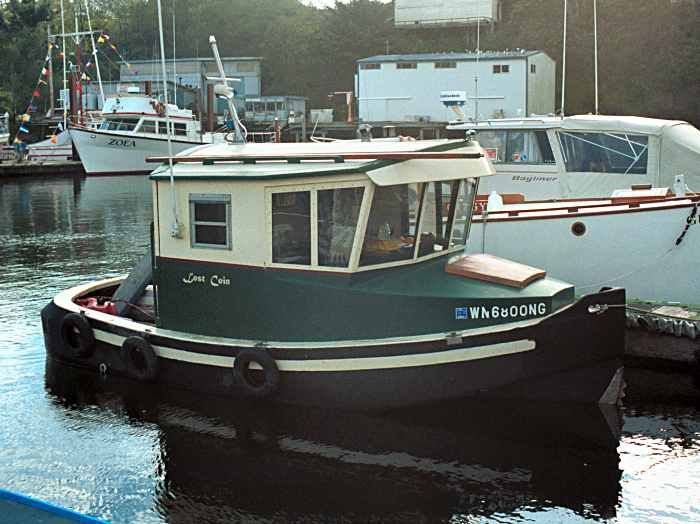 LostCoinjpg The Minitugboat Lost Coin Started Out As A Bolger - Bolger micro trawler boats