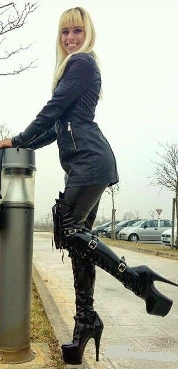 Thigh high botos femdom