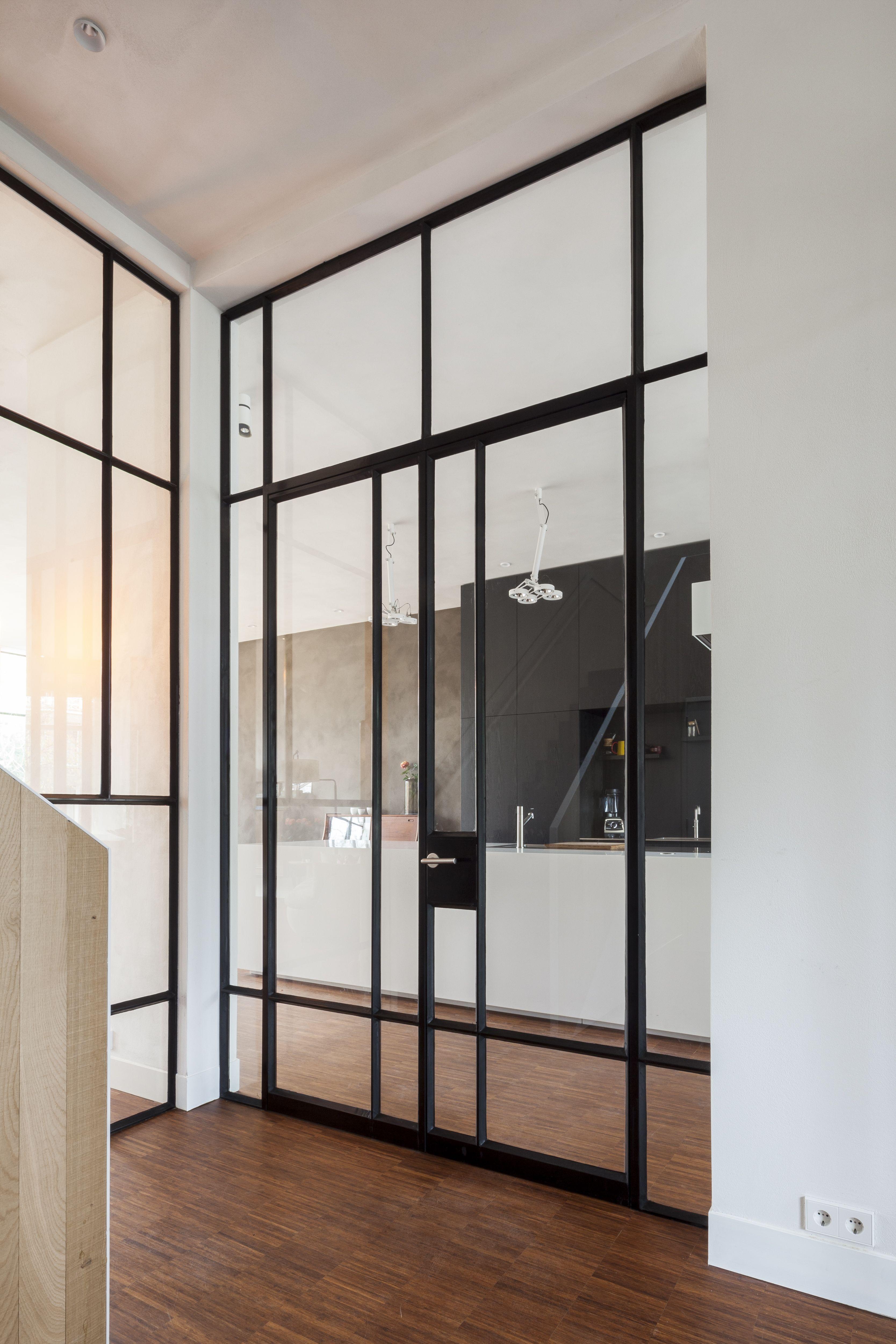 Ods art15 dubbele deur chassis murs vitr s porte acier et chassis vitr - Porte separation vitree ...
