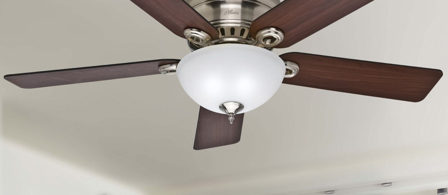 Perfect For Larger Rooms The 52 Springhill Ceiling Fan Will