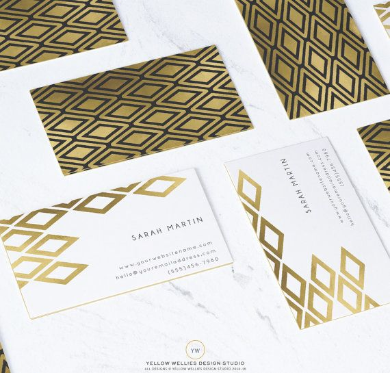 Business Card Template Moo Gold Foil Template Photoshop Template Photography Busines Moo Business Cards Photography Business Cards Marketing Business Card