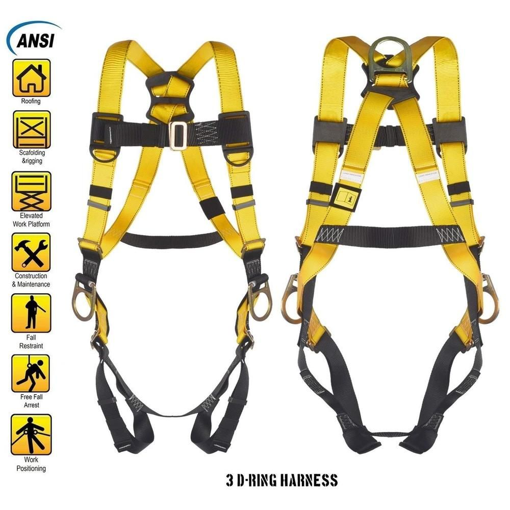 Safety Full Body Strap Fall Protection Industrial