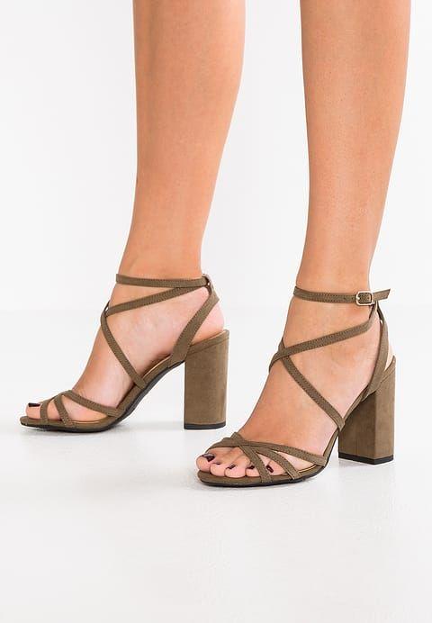 New Look Wide Fit WIDE FIT TATENT - Sandalias dark khaki 7snF6
