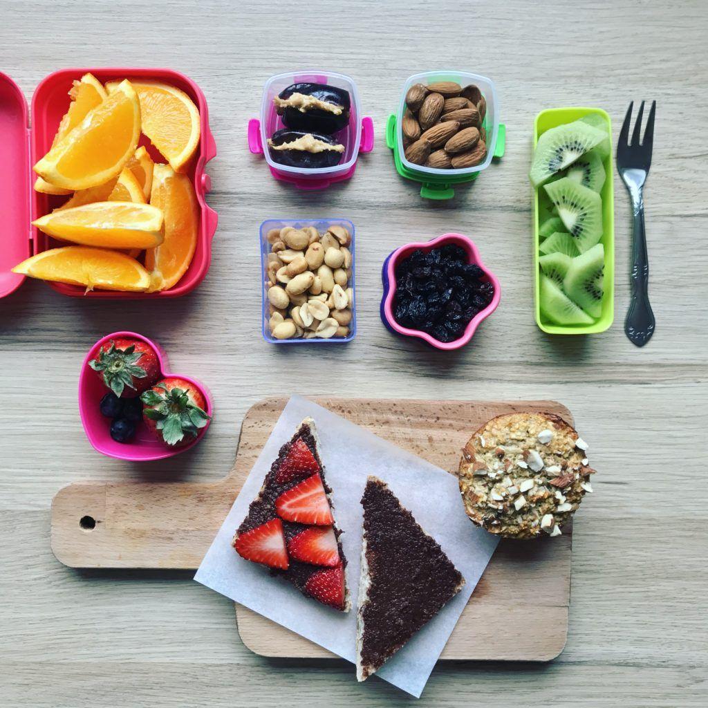 Små snacks til madpakken - få inspiration til små snacks