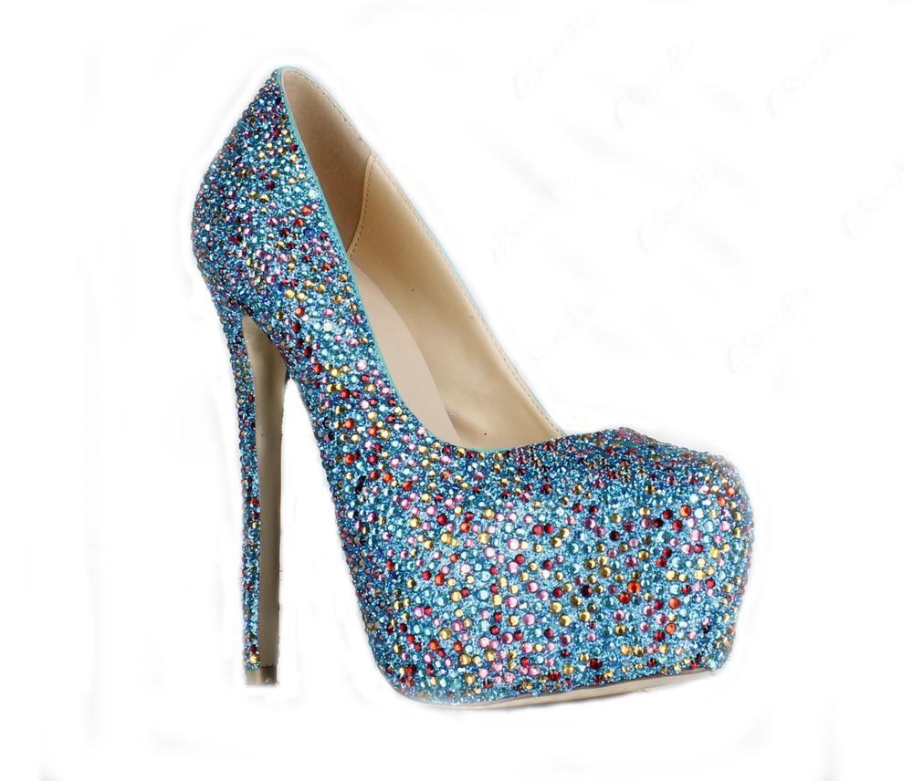 Perfect Sheepskin #Stiletto Heels Platform Prom/Evening Shoes ...