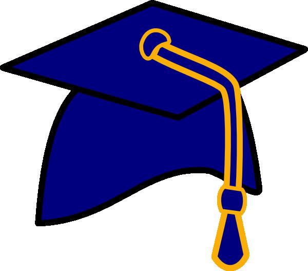 Image result for blue graduation cap