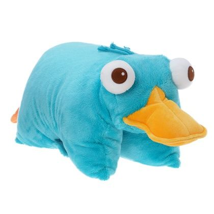 Perry the Platypus pillow pet | Animal pillows, Perry the platypus