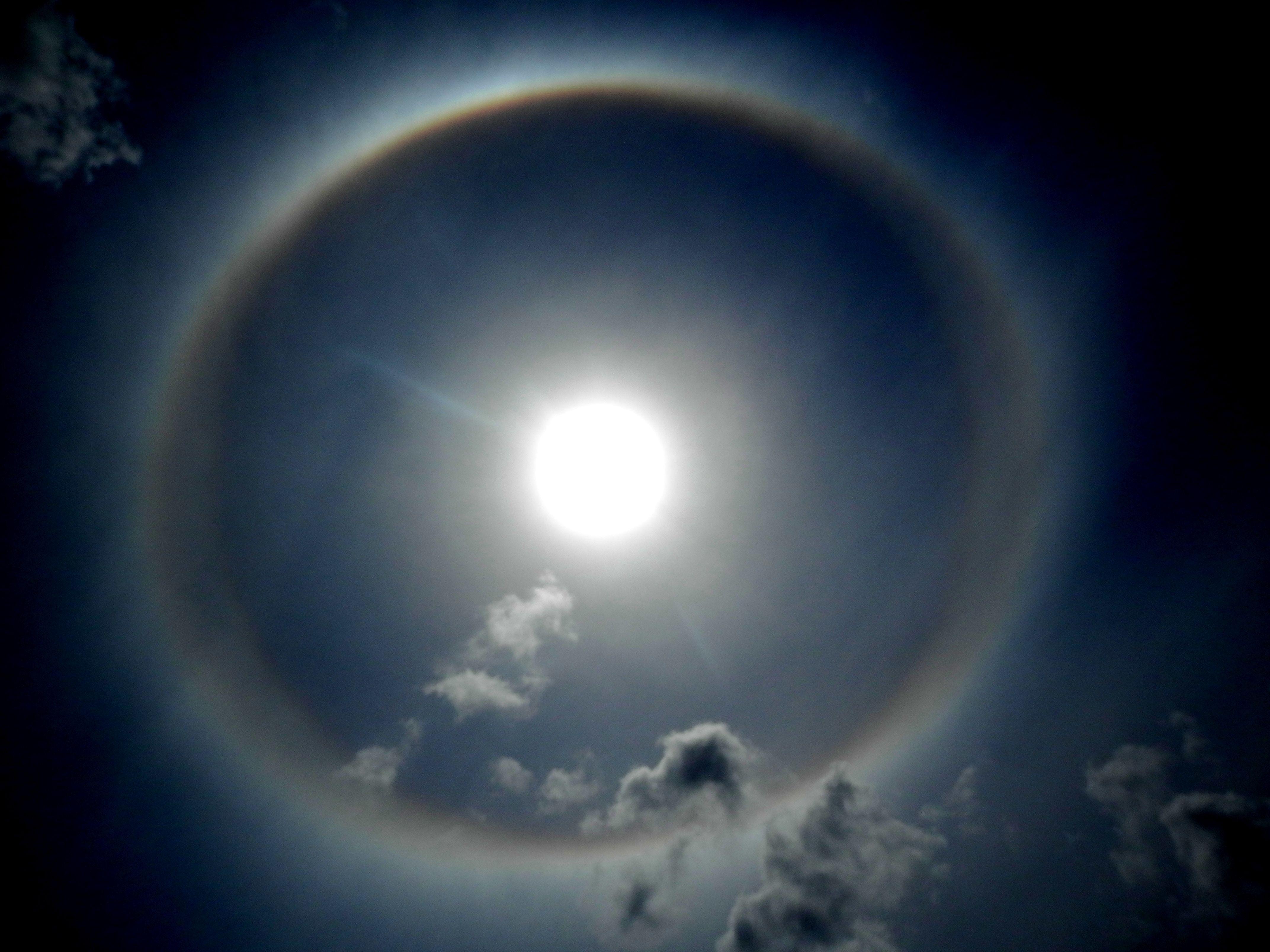 Halo Solar Celestial Solar Photography