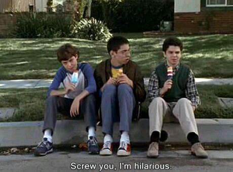 When people don't laugh at my jokes.