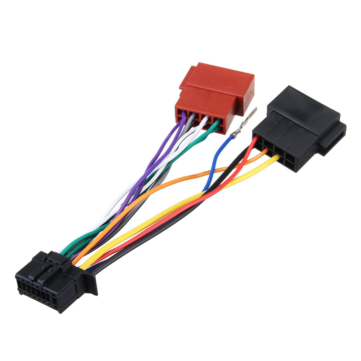 Car Stereo Radio Player ISO Wiring Harness Connector 16Pin