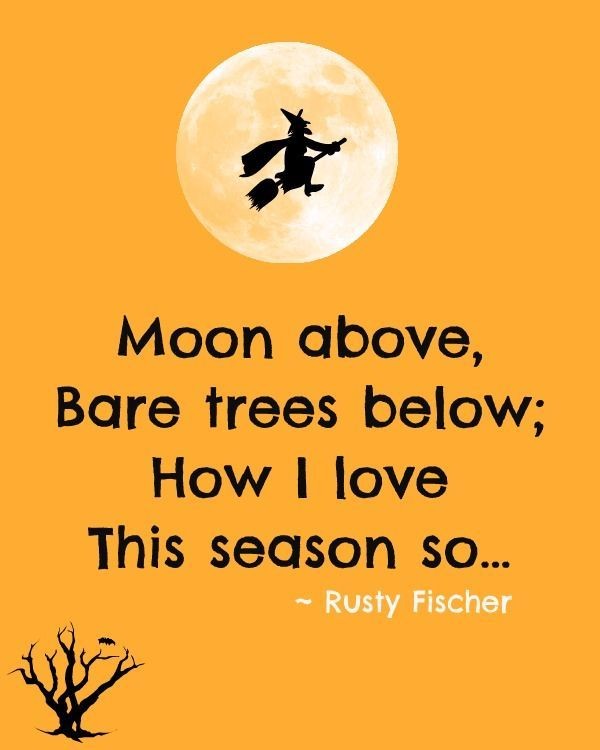 1000+ Ideas About Halloween Poems On Pinterest | Switch Witch .