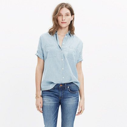 Tommy Jeans Donna Oversized Denim Shirt Camicia
