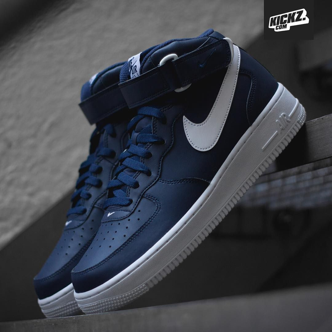 Nike Air Force 1 Mid: Midnight Navy