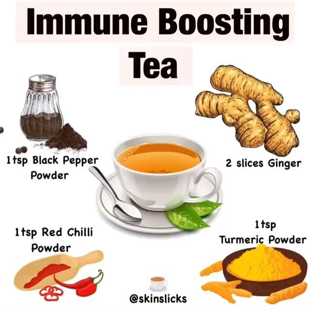 Immune-boosting tea recipe