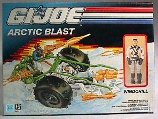GI JOE ARCTIC BLAST MISSILE PART 1989 G.I JOE EXCELLENT SHAPE