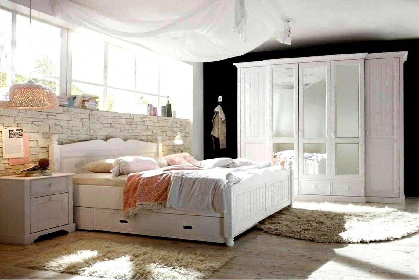 Landhaus Schlafzimmer Komplett Ikea White Bedroom Decor Home