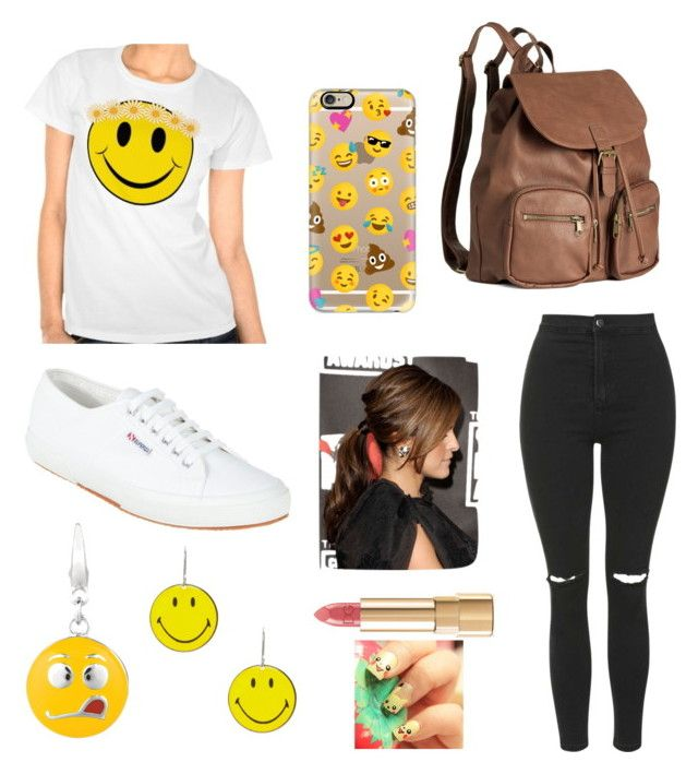 """Smile!!!"" by under100outfits ❤ liked on Polyvore featuring Topshop, Superga, H&M, Casetify, Dolce&Gabbana, women's clothing, women, female, woman and misses"