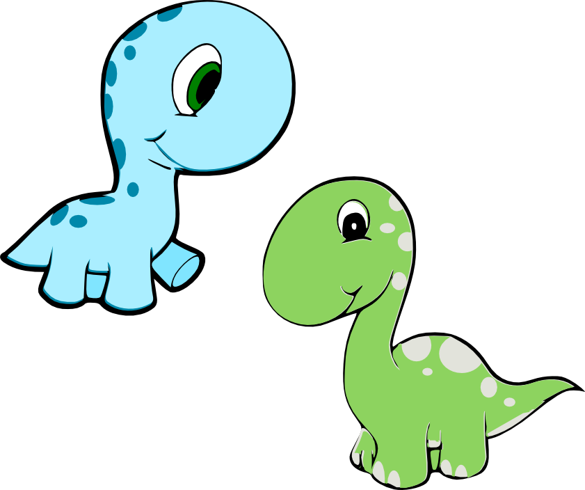 free girl dinosaur clipart - photo #19