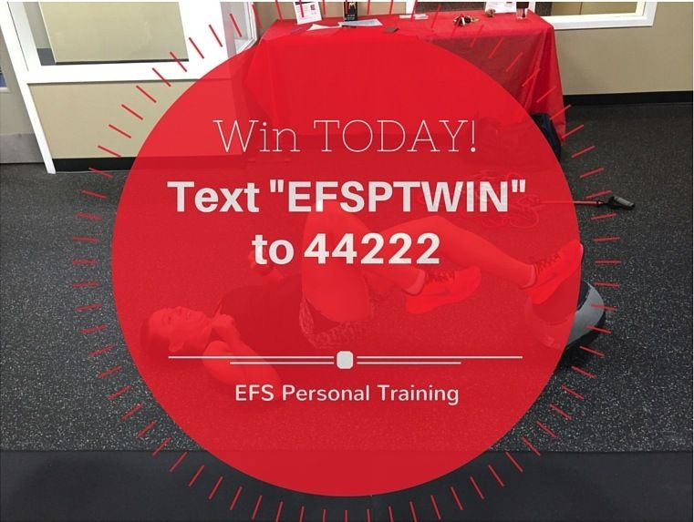 Get 3 Free Sessions To Gift After Buying 3 Sessions For Only 149 Text Efsptwin To 44222 To Be Entered With Images Fitness Tips Personal Training Texts