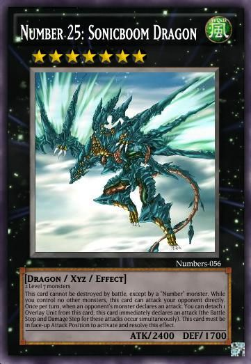 Number 25 Sonicboom Dragon Yu Gi Oh Card Maker Wiki Cards