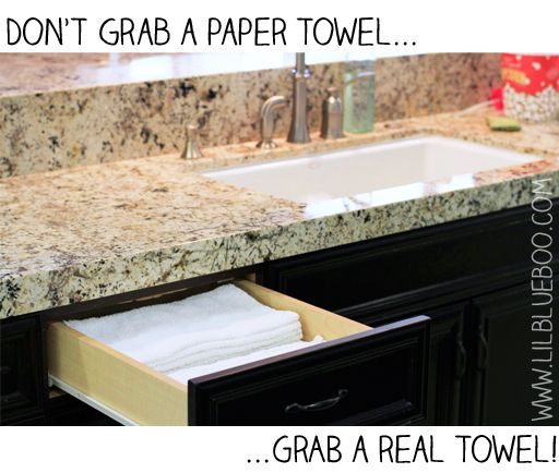 how to make reusable paper towels. Holy moly! So many great eco friendly ideas!