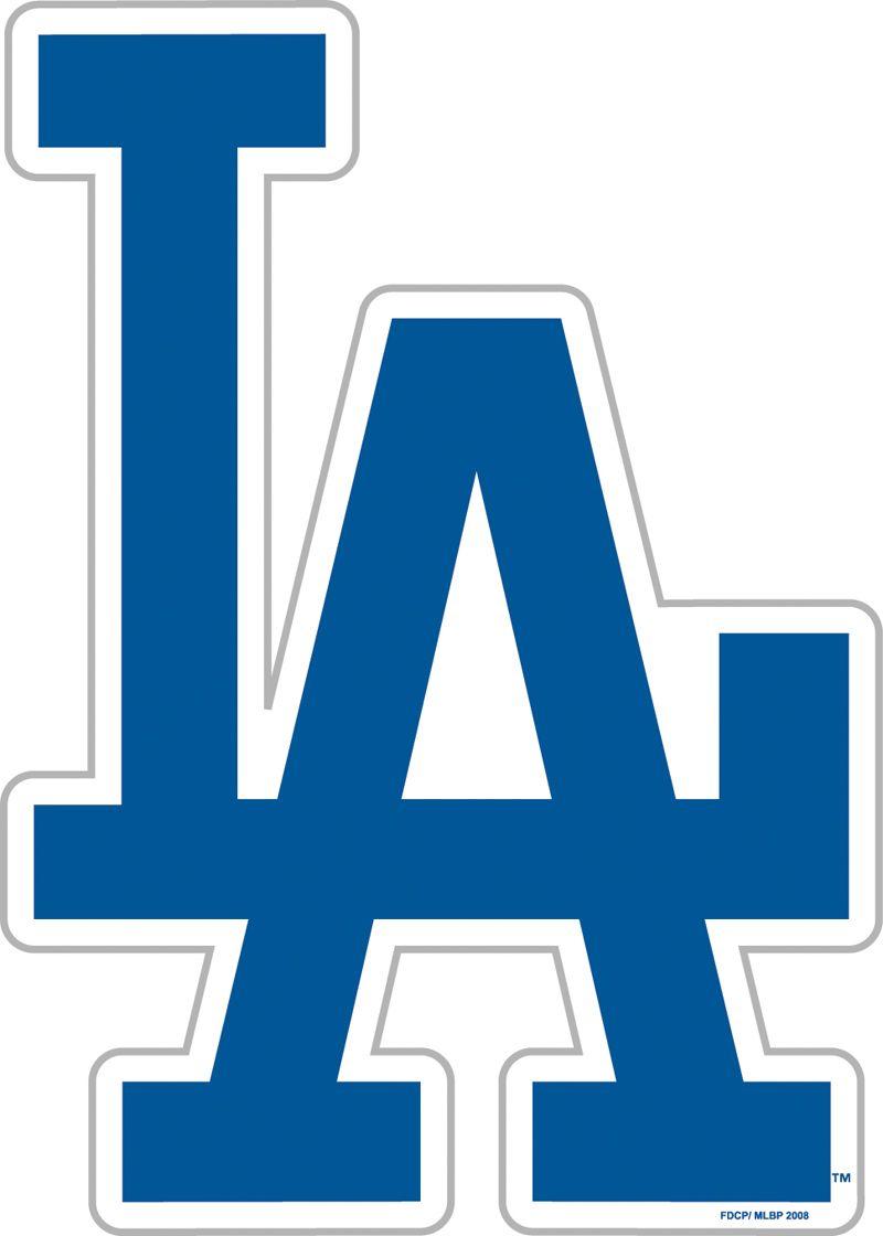 Los Angeles Dodgers Vinyl Magnet LA Pinterest Los - Custom vinyl stickers los angeles