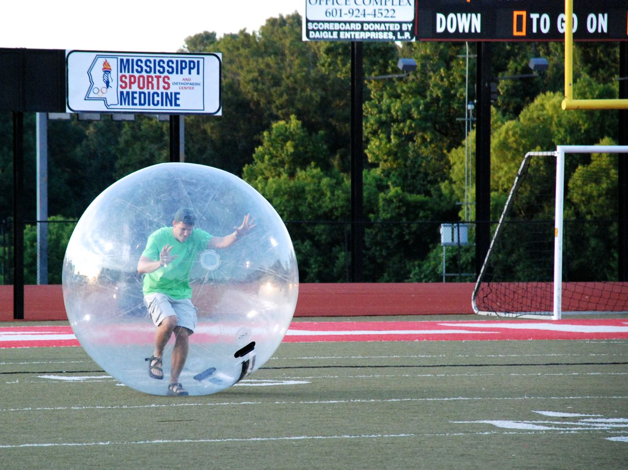 Ready for fun halftime events at Brilla soccer games again