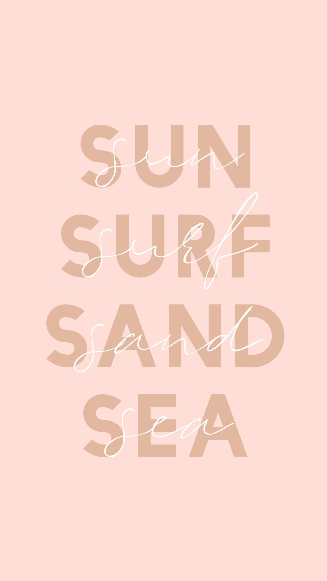 Sun, Surf, Sand & Sea