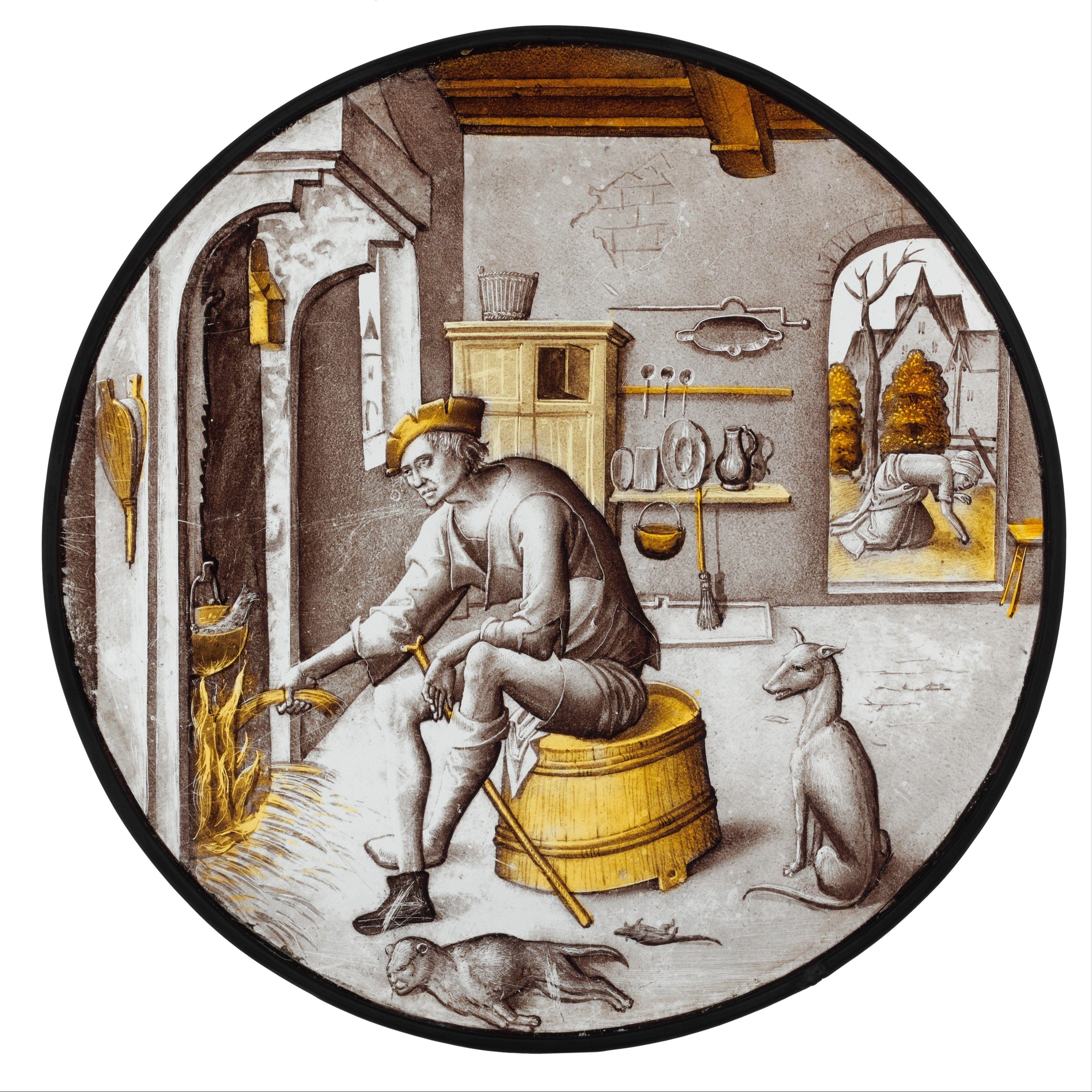 Средневековые прикольные картинки, осенью надписью