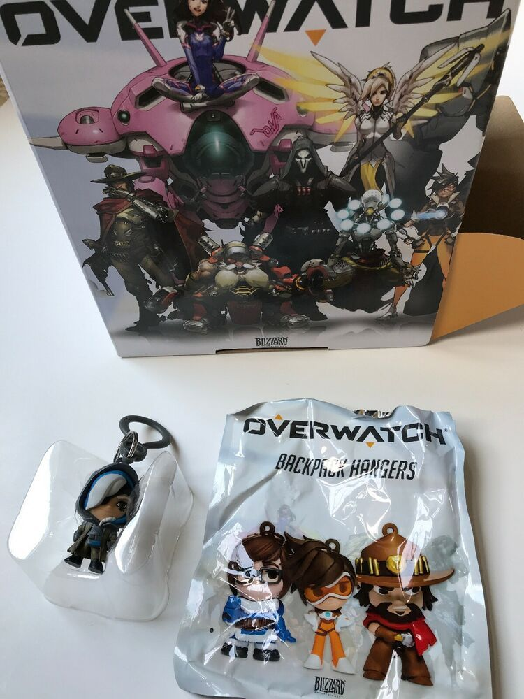 Overwatch Backpack Hangers Series 1 Ana Blind Bag Figure NEW