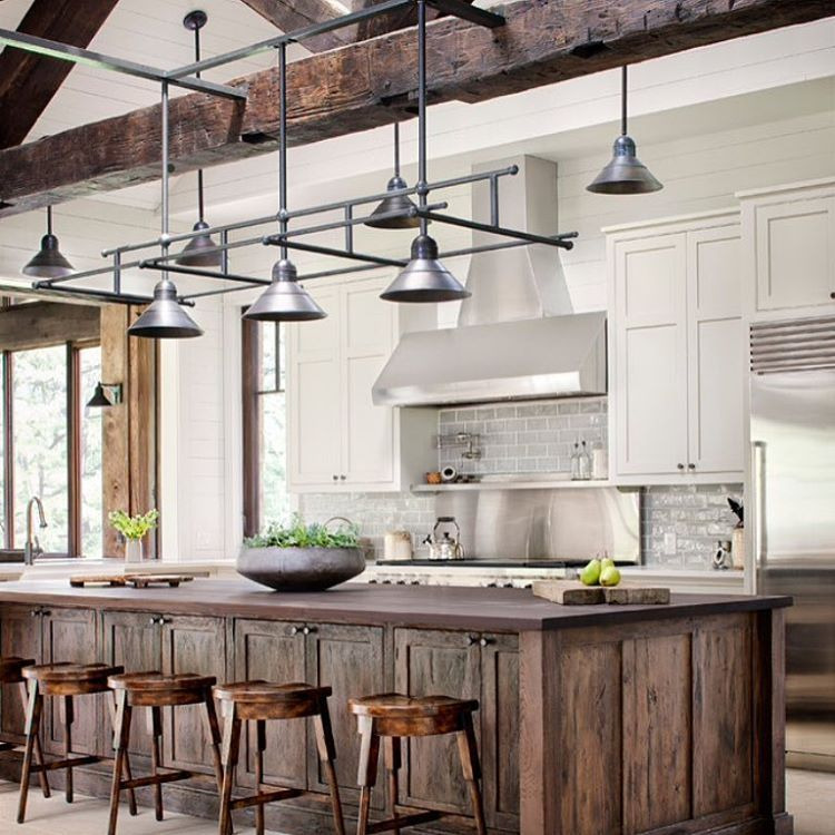 "Lake Home Decor: ""Industrial Meets Lake House And It Hits The Bullseye"